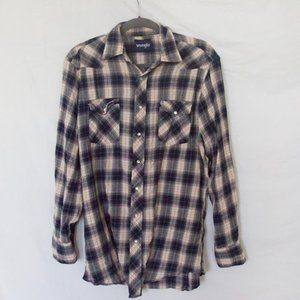 Plaid Wrangler Flannel